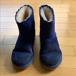 Royal blue Ugg boots sz 2y